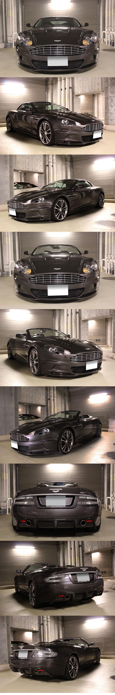 ASTON MARTIN Aston Martin DBS VOLANTE volante V12 vehicle