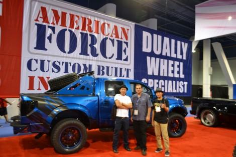 SEMA 2012 x American Force