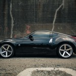 Black Nissan 370z x Machined Silver RC22