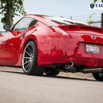 Nissan 370z x RC10 Black : Machined Face