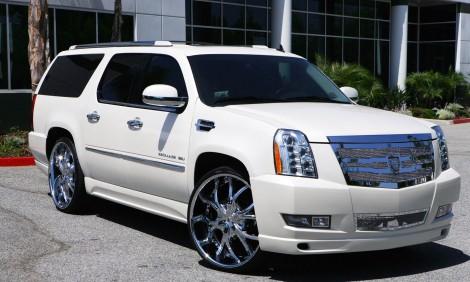 """LEXANI DIAL 28"""" x Cadillac Escalade"""