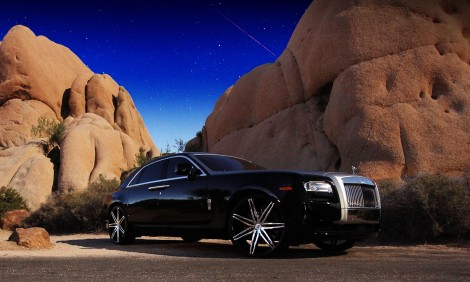 "LEXANI JOHNSON Ⅱ 22"" x Rolls Royce Ghost"