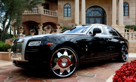 "LEXANI LX-2 22"" x Rolls Royce Ghost"