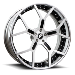 FORGIATO GTR-ECL Satin/Black Center, Chrome Lip