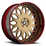 FORGIATO GRANO Gold/Red Center, Custom Lip