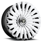 DUB Skinnie S912 Chrome 24x9, 26x10, 28x10