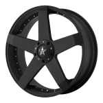 KM775 ROCKSTAR CAR Black