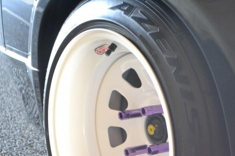 タイヤも拘りました。