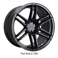 XXR558 Flat Black