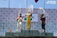 D2 Racing 表彰台
