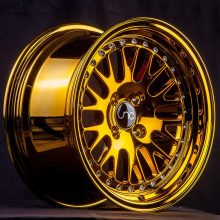 JNC001 Gold Chrome