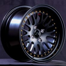 JNC001 Matte Black w: Gold Rivets