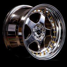 NC010 Platinum Gold Rivets