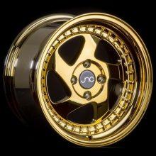 JNC034 Platinum Gold Gold Rivets