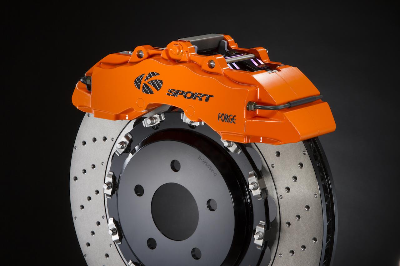 K-SPORT ブレーキシステム オレンジ